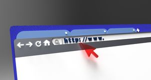 Web design Immagine Stock