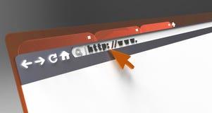 Web design Fotografia Stock