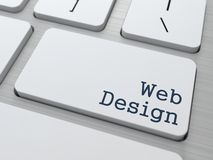 Web Design. Business Concept. Royalty Free Stock Photos