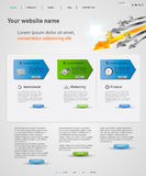 Web design concept Stock Images