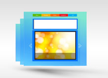 Web design concept Royalty Free Stock Photos