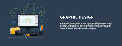 Web design concept Royalty Free Stock Photography