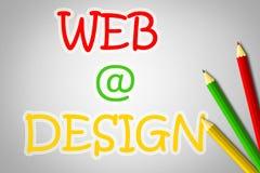 Web Design Concept stock illustration