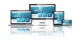 Web design concept. Vector Royalty Free Stock Image
