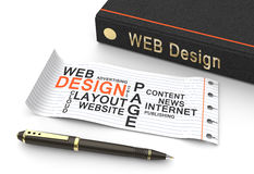 Web design concept Royalty Free Stock Photos