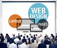 Web Design Content Creative Website Responsive Concept Stock Photos