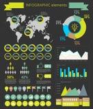 Web design de calibre d'éléments d'Infographic illustration de vecteur