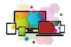 Web design del pettine Fotografia Stock Libera da Diritti