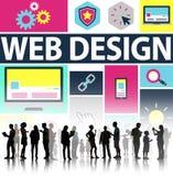 Web Design Development Style Ideas Interface Concept Stock Photography