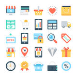 Web Design and Development Vector Icons 1 Royalty Free Stock Photo