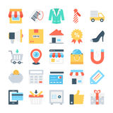 Web Design and Development Vector Icons 3 Stock Images