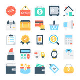 Web Design and Development Vector Icons 4 Royalty Free Stock Photo
