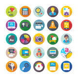 Web Design and Development Vector Icons 11 Stock Photography
