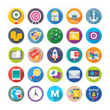Web Design and Development Vector Icons 14 Royalty Free Stock Image