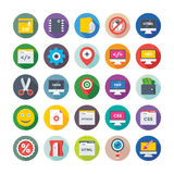 Web Design and Development Vector Icons 7 royalty free illustration