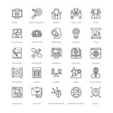 Web Design and Development Vector Icons 15 Royalty Free Stock Photography