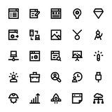 Web Design and Development Vector Icons 4 Stock Photos