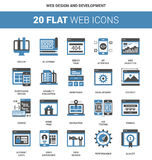 Web Design and Development Stock Image