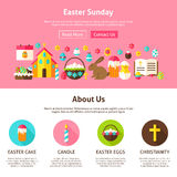 Web Design Easter Sunday Stock Images