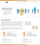 Web design, easy editable Stock Image