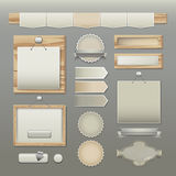 Web design elements Royalty Free Stock Photo