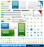 Web design elements extreme collection Stock Photos