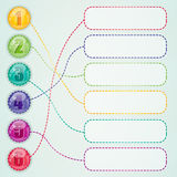 Web design elements. Illustration 10 version Royalty Free Stock Image