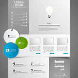 Web Design elements. Templates for website. Stock Images
