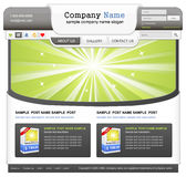 Web design elemets set. Royalty Free Stock Photography
