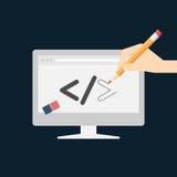 Web design et concept de développement Photo libre de droits