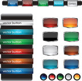 Web design frame buttons  set Royalty Free Stock Photo
