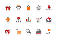 Web design icons Royalty Free Stock Photography