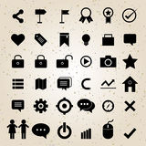 Web design icons set vector Stock Images