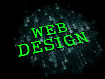 Web Design. Internet Concept. Royalty Free Stock Photography
