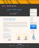 Web design modern template Stock Photos