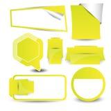 Web design navigation set Stock Image
