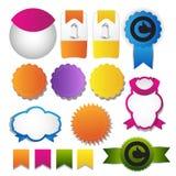 Web design navigation set Royalty Free Stock Photos