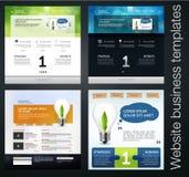 Web design set Stock Photography