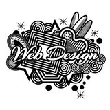 Web design symbol for flyer, poster, banner, web header. Abstract background. EPS file available. see more images related stock illustration
