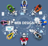 Web Design Technology Browsing Programming Concept Stock Images