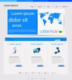 Web design templat Stock Photography