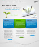 Web design template Royalty Free Stock Photos