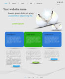 Web design template Stock Photos