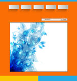 Web design template Royalty Free Stock Images