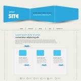 Web design template Stock Photo