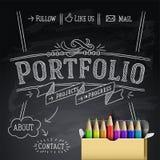 Web design template, vector Eps10 Illustration. Stock Image