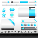 Web Design Vector Elements Royalty Free Stock Photography