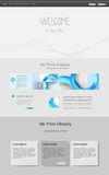 Web design vector template Royalty Free Stock Image