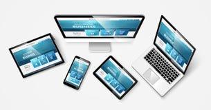 Web design 1 vkr Royalty Free Stock Photos