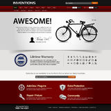 Web Design Website Element Template Royalty Free Stock Images